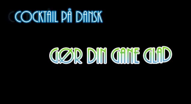Cocktails På Dansk TV-Køkken