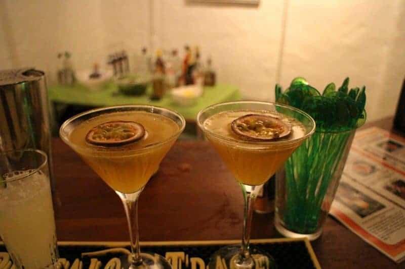 Passion Martini - Cocktails med passion - Lej Cocktail Bar - Tilbud til fest - Få fest tilbud