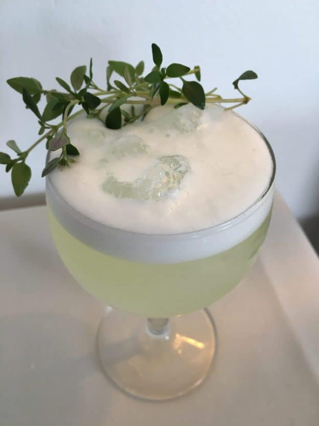 Timian Fizz - Gin Fizz cocktail - Cocktail med gin - Gin og Tonic