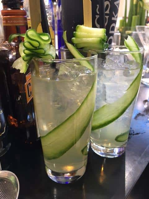 Cucumber Collins - Cocktails med gin - Gin cocktails - Klassiske cocktails - Drinks med gin - gin drinks
