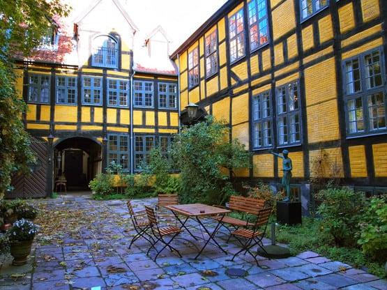 Admiral Gjeddes Gaard festlokaler København - lej et festlokale - Selskabslokale København - Festlokaler i København
