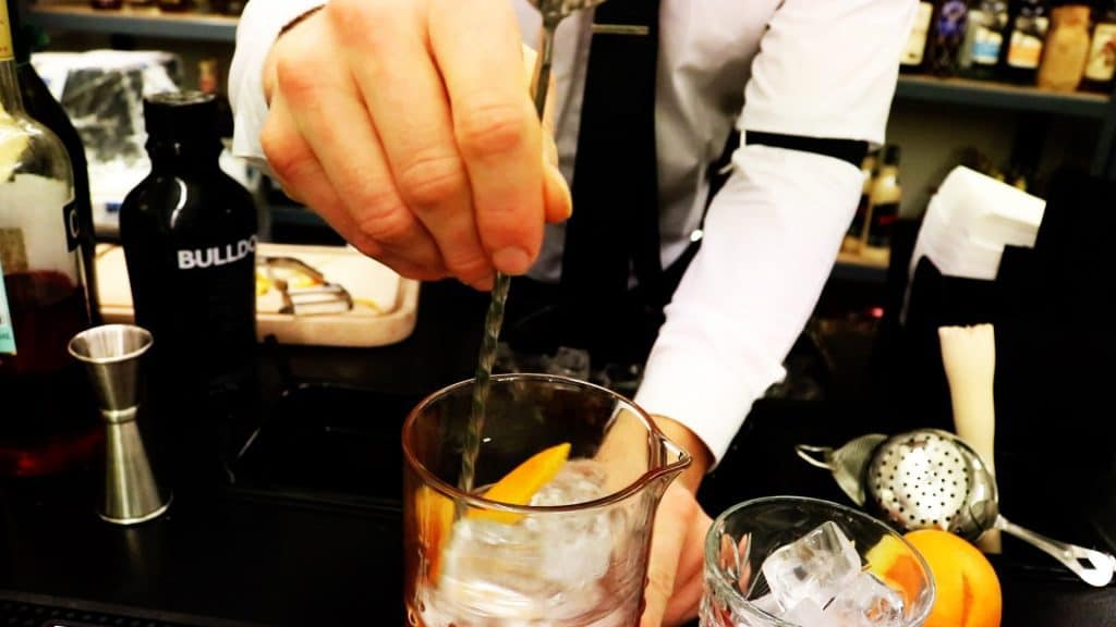 How to make NEGRONI drink opskrift