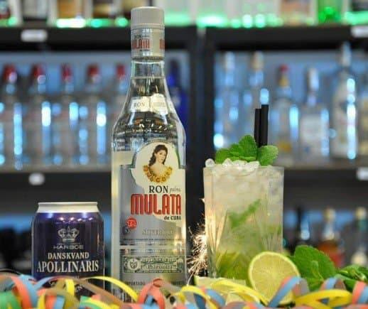 mojito cocktail pakke - velkomstdrink til nytår - bedste velkomstdrink til fest