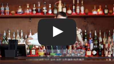 youtube bartender flair show - cocktail bar