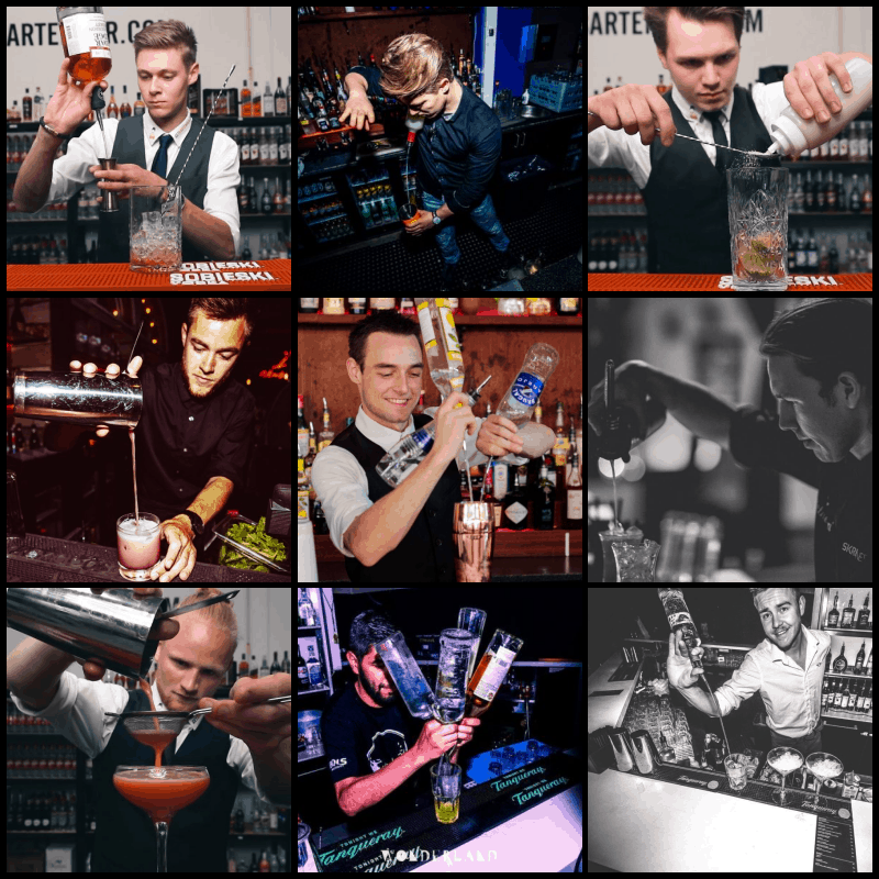 Cocktail Bartenderne i Jylland - Team Get Bartender