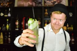 Cucumber Collins opskrift - Bedste Drinks med gin - Gin cocktails opskrifter - Drinks opskrifter