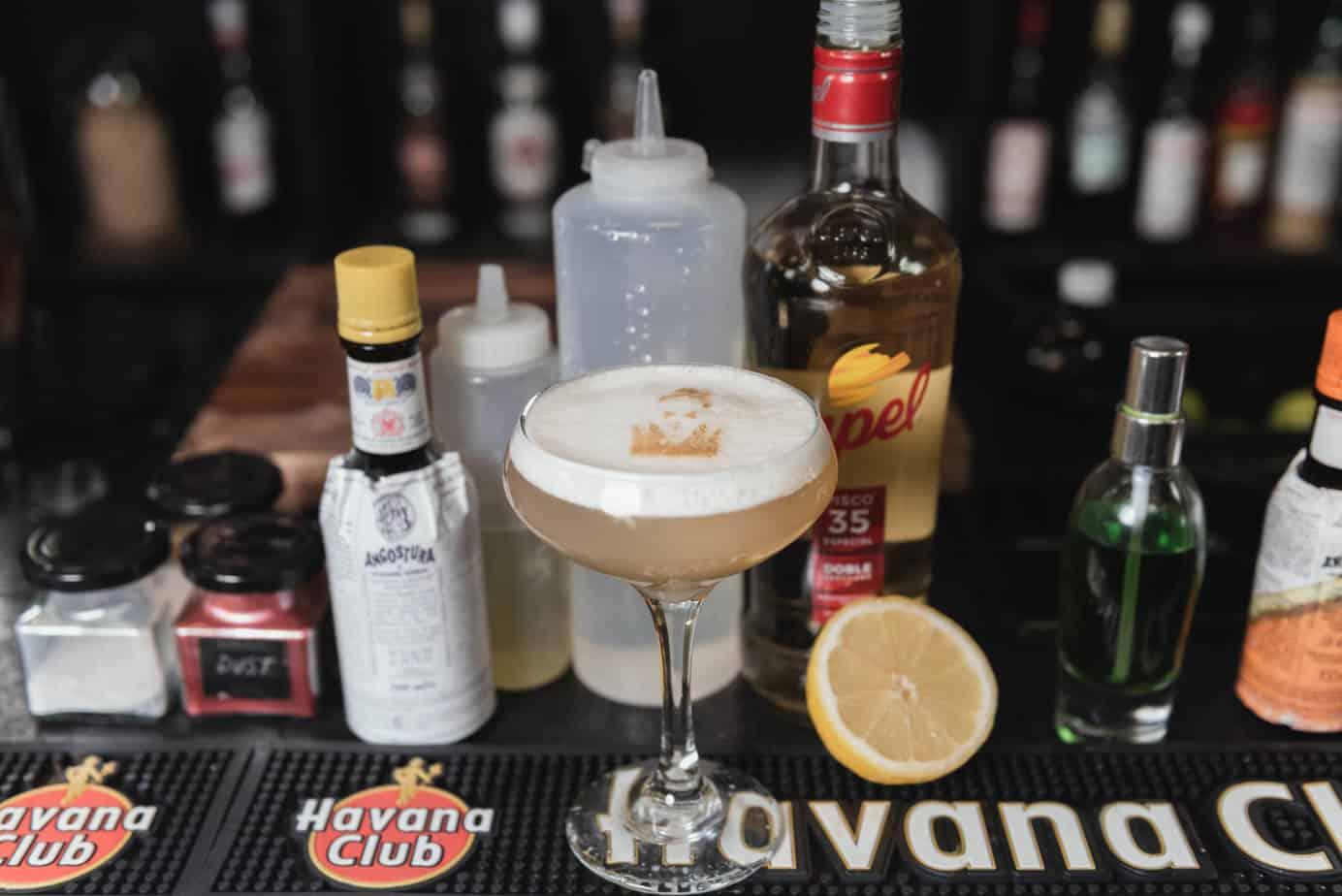 Pisco Sour cocktail opskrift - bedste drink opskrift cocktail opskrift bedste pisco sour opskrift