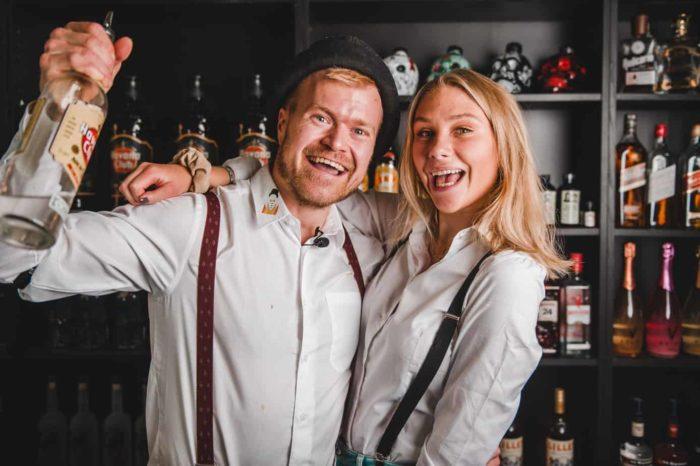 Cocktail til fest - Bartender Udlejning - Cocktail Bar til firma
