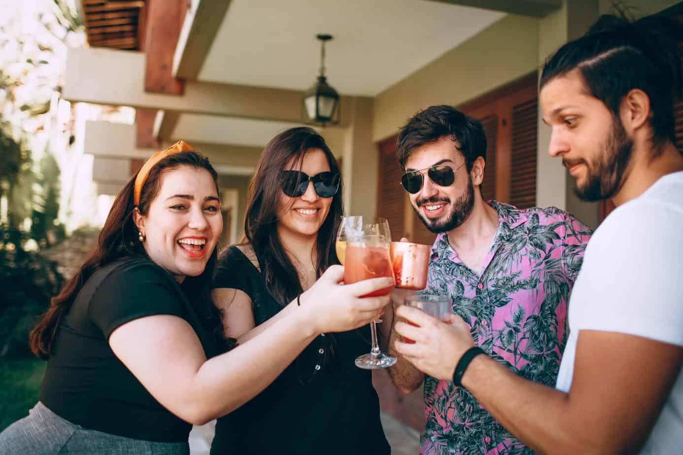 Fødselsdagsfest Firmafest Cocktail Skål - Den bedste firmafest - Firma cocktail bar - Fredagsbar